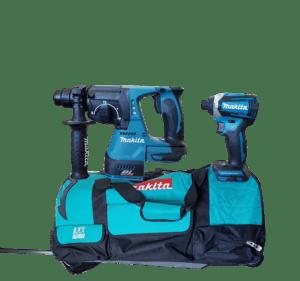 סט כלים נטען ללא פחמים Makita DLX3040M