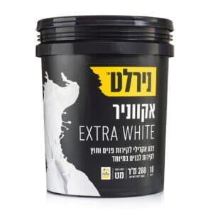 אקווניר 18 ליטר Extra White נירלט