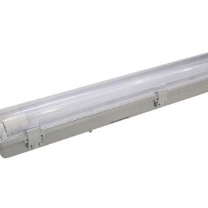 גוף תאורה הרמטי ROCKET 2X24W גוון 65K מוגן IP65